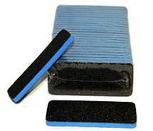Rectangular Black Nail Files Grit 60