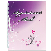 4 Column Appointment Book (Various Designs)