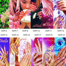 Nail Salon Window Decal Posters - 16 Different Styles