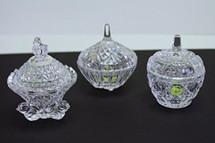 Crystal Glass Dappen Dish