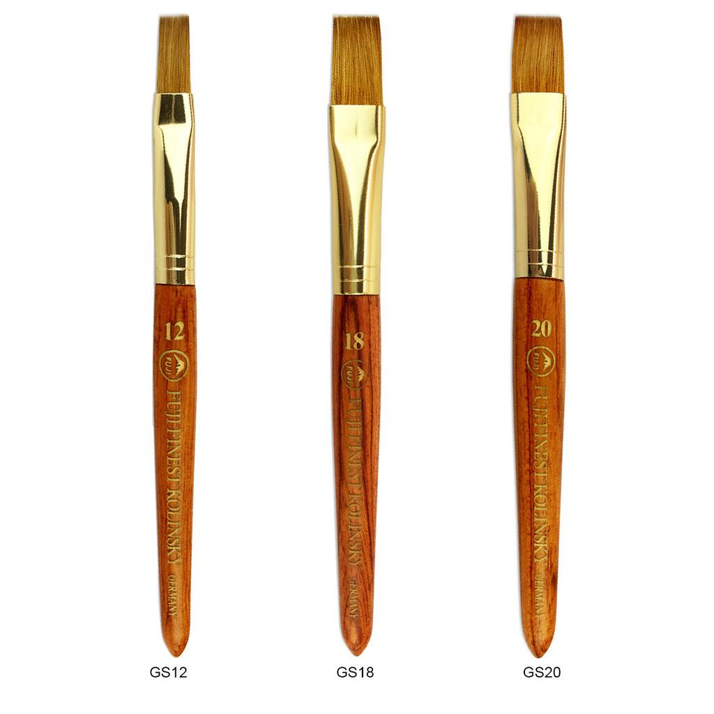 Fuji Finest Kolinsky Gel French Nail Art Brush - Fuji Nails, Inc