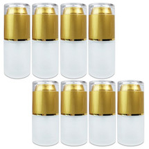 20ML/30ML Empty Frosted Glass Spray Bottle with Gold Cap