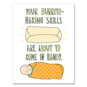 Burrito Baby Card