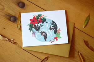 Peace On Earth Card- Boxed Set of 8