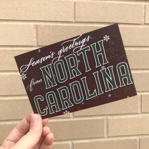 Seasons Greetings from North Carolina Postcard 10 pack