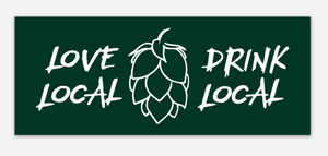 Drink Local Sticker