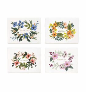 Rifle Paper Co. Assorted Bouquet Card Set