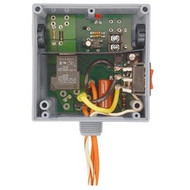 FUNCTIONAL DEVICES FUNRIBTE02SB Enclosed Relay Hi/Low sep 20Amp SPST + Override 208-277Vac power + 5-30Vac/dc