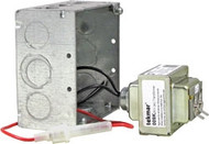 Tekmar 009K 24 V (ac) Transformer Kit includes Mounting Box