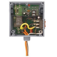 FUNCTIONAL DEVICES FUNRIBTE01SB Enclosed Relay Hi/Low sep 20Amp SPST + Override 120Vac power + 5-30Vac/dc