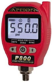 Appion P800 800 PSI Wireless High Side Pressure Gague Bluetooth
