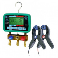 UEI Digi-Cool AK900 SC Digital Manifold System Analyzer With AKTS1140 Clamps