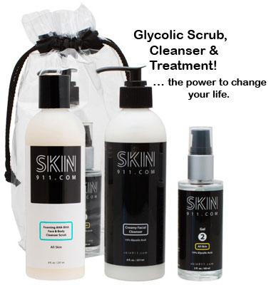Peptide & Glycolic Skin Care