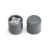 Extra Thick Walker Caps - Gray - 1 Pair