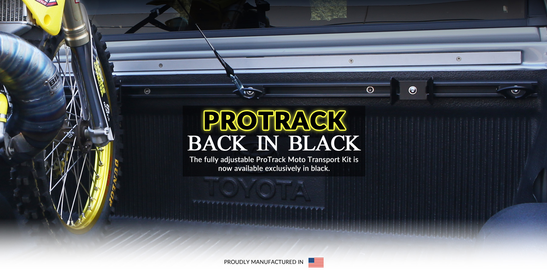 The ever popular ProTrack is back and by popular demand they are Back in Black.