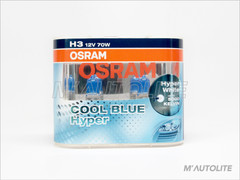 H3 - OSRAM Cool Blue Hyper 5000K Bulbs