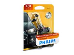 H11: Philips Standard Halogen bulb 12362B1 (Pack of 1)