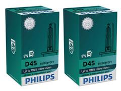 Set of Philips X-treme Vision +150% HID Xenon headlight bulbs 42402XV2C1