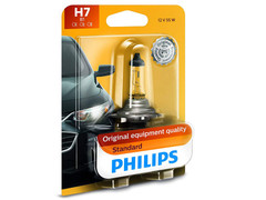 Single package of Philips Standard Halogen bulb 12972B1 H7