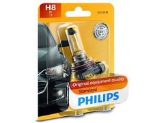 Single package of Philips Standard Halogen bulb 12360B1 H8