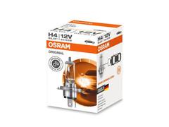 A single package of Osram Original Standard Halogen bulb 64193 H4/9003/HB2