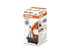 A single package of Osram Original Standard Halogen bulb 64212 H8