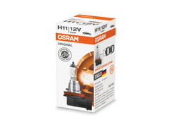A single package of Osram Original Standard Halogen bulb 64211 H11