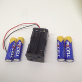 6302 - AA x 4 Square Battery Holder