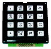 7451 - 16 Key Alpha Numeric Keypad