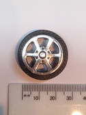 5134 - Plastic Wheel  30mm   Set of 4