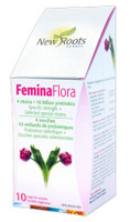 New Roots Femina Flora 10 Billion, 10 Vaginal Ovules | NutriFarm.ca
