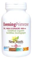 New Roots Evening Primrose Oil (Certified Organic) 1000 mg, 180 Softgels | NutriFarm.ca