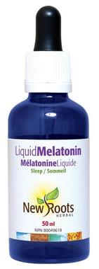 New Roots Liquid Melatonin, 50 ml | NutriFarm.ca