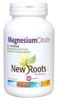 New Roots Magnesium Citrate & L-Taurine, 180 Capsules | NutriFarm.ca
