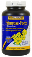 Prairie Naturals Primrose-Force 1000mg, 180 Softgels   NutriFarm.ca
