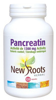 New Roots Pancreatin, 120 Capsules