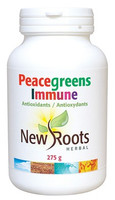 New Roots Peacegreens Immune, 275 g | NutriFarm.ca