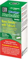 Bell Bone Density with Calcium 1152 mg, 60 Capsules | NutriFarm.ca