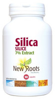 New Roots Silica 600 mg, 90 Capsules | NutriFarm.ca