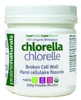 Prairie Naturals Chlorella Powder, 200 g | NutriFarm.ca