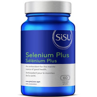SISU Selenium Plus, 60 Capsules   NutriFarm.ca