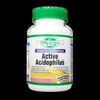 Organika Active Acidophilus, 100 Veg Caps | NutriFarm.ca