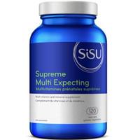 SISU Supreme Multi Expecting, 120 Vegetable Capsules | NutriFarm.ca