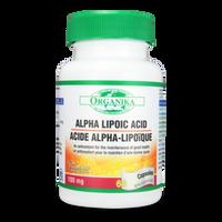 Organika Alpha Lipoic Acid 100mg, 60 Caps | NutriFarm.ca