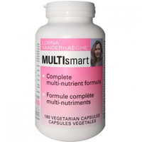Lorna Vanderhaeghe Multi Smart, 180 Veg Capsules | NutriFarm.ca