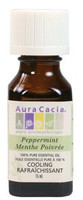 Aura Cacia Peppermint Oil, 15 ml