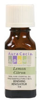 Aura Cacia Lemon Oil, 15 ml
