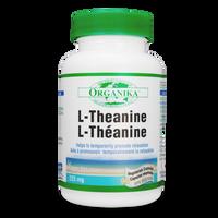 Organika L-Theanine, 90 Vegetable Capsules | NutriFarm.ca