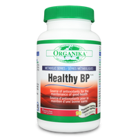Organika Healthy BP, 90 Vegetable Capsules | NutriFarm.ca