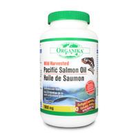Organika Salmon Oil 1000 mg, 180  | NutriFarm.ca